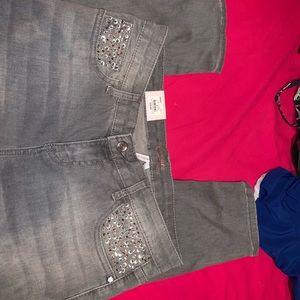 Grey Candies Skinny Jeans